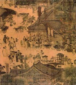 Chinese painting of Qingming festival