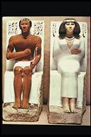 Rahotep and Nefret (4th Dynasty, about 2500 BC)