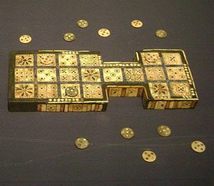 Royal Game of Ur (2600 BC; British Museum)