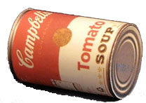 a can of soup
