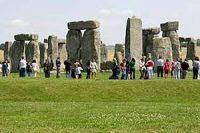 Stonehenge standing stones