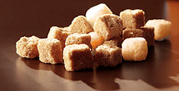 Sugar also has a lot of carbohydrates