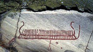 Boat (Tanum, Sweden, ca. 1700 BC)