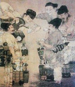 Competing for the best tea (Song Dynasty China, ca. 1100 AD)