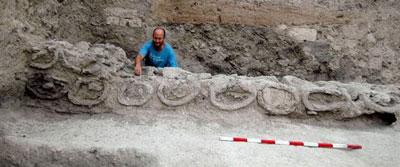 Beehives at Tel Rehov (northern Israel, 1000 BC)