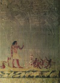 Tomb of Ti, who is watching a hippopotamus hunt - 5th Dynasty Old Kingdom (ca. 2400 BC)