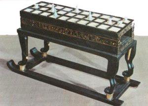 King Tutankhamon's Senet Board (ca. 1300 BC)