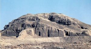 Remains of the ziggurat at Warka, in Iraq, 3000 BC- What is a Mesopotamian ziggurat?