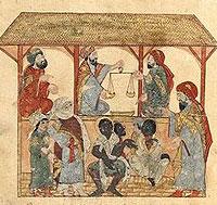 Slave market inYemen(1300s AD)
