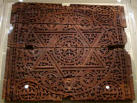 Abbasid wooden carving (800s AD)