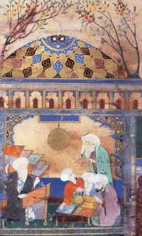 Al Tusi in his observatory (ca. 1259 AD)