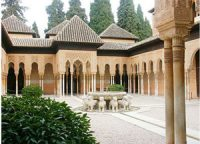 Court of the Lions, Alhambra (1200s AD)