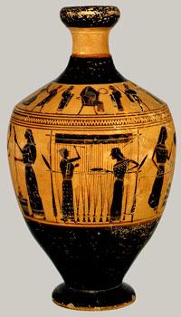 Amasis painter (Athens, ca. 550 BC)