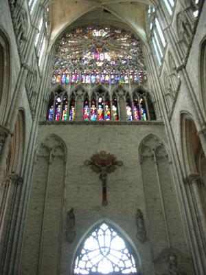 Amiens transept