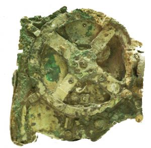Antikythera mechanism: a clockwork machine to calculate how the earth and the sun move around