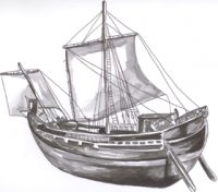 Reconstruction of the Antikythera trading ship