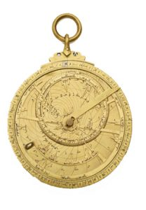An Islamic astrolabe (832 AD)