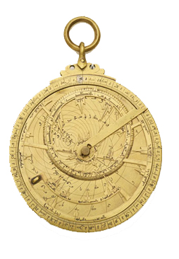 An Islamic astrolabe (832 AD)