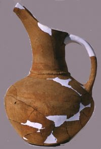 A beaked jug from Early Bronze Age Lerna, Greece (about 2100 BC)