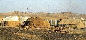 Bedouin tents today in the Arabian peninsula