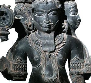 Brahma (Musée Guimet, Paris,from Madhya Pradesh, about 1100 AD)