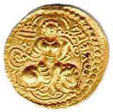 Coin of Chandragupta, 300s AD