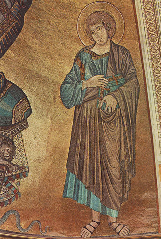 MosaicofSt. Johnfrom thecathedral of Florence