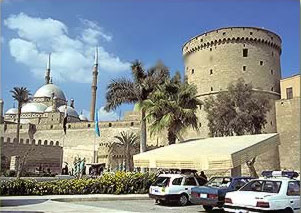 Saladin's castle in Cairo, where Maimonides worked