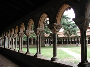Cloister at Moissac (ca. 1100 AD, southern France)