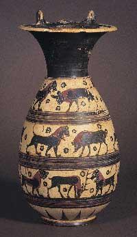 Corinthian vase