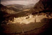 Greek theater at Delphi