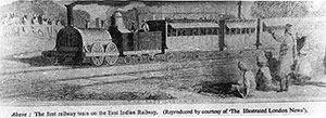 First East India train (1854)
