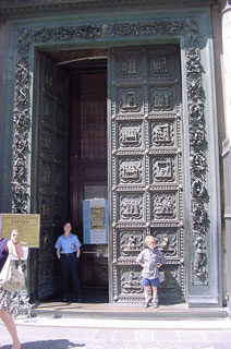 big fancy doors