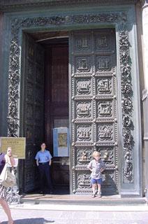 big fancy doors