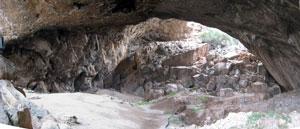 Inside Franchthi Cave