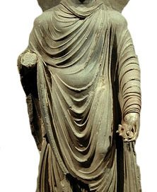 Greek style Buddha from about 100 AD