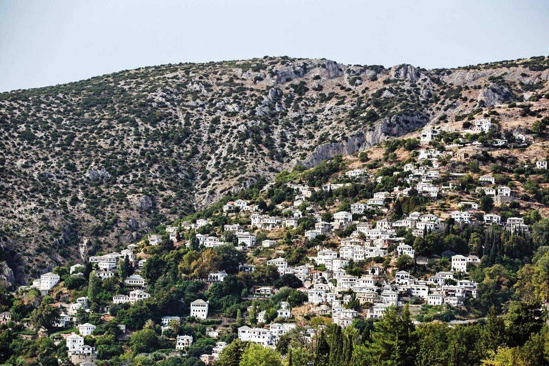 A Greek hillside