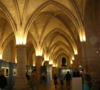 Basement dining hall of the Conciergerie
