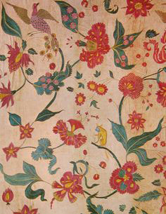 Cotton cloth from Gujarat, India (1600s AD)