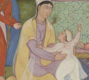 Hamida Banu and Akbar