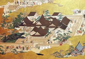 Hana-no-goshu palace, ca. 1500 AD