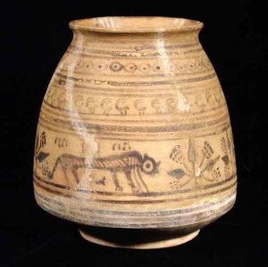 Harappan pottery from the Indus Valley, about 2000 BC