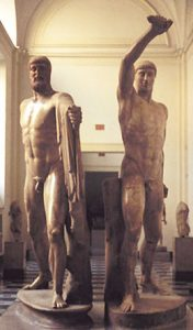 Statues of Harmodius and Aristogeiton