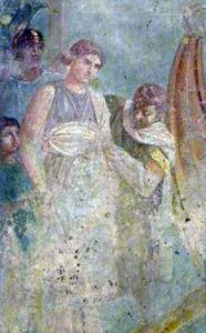 Kidnapping Helen of Troy (from Pompeii)