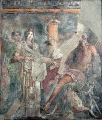 Hera's marriage to Zeus (Pompeii, ca. 79 AD)