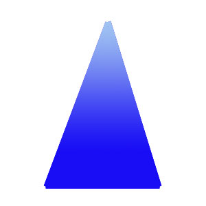 This is an isoceles triangle.