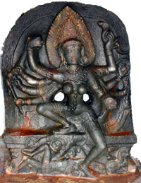 Kali (from Kalinga in Eastern India, about 1000 AD)