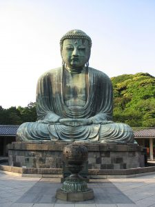 Buddha statue at Kamakura (Japan, 1252 AD, thanks to Dirk Beyer)