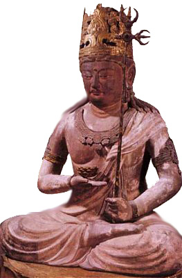 Godai Kokuzo Bodhisattva (Jingo-ji Temple, Kyoto), ca. 800-900 AD