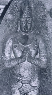 Krishna Deva Raya (possibly), ca. 1500 AD